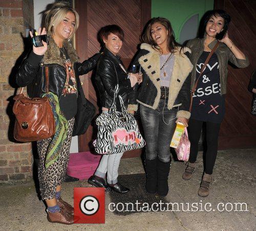 X Factor contestants Sophia Wardman, Rebecca Creighton, Geneva...