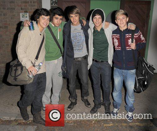 X Factor contestants Harry Styles, Zain Malik, Liam...