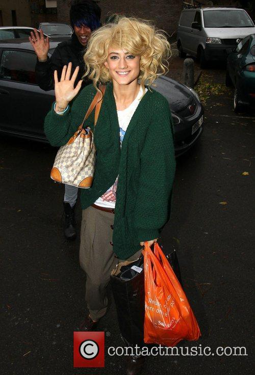 'The X Factor' finalist Katie Waissel  arrives...
