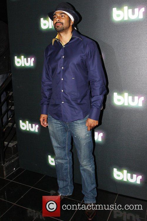 David Haye at Blur launch party held at...