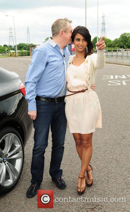 Louis Walsh and Konnie Huq at the X...
