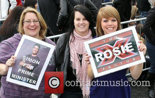 The X Factor London Auditions 2010 held at...