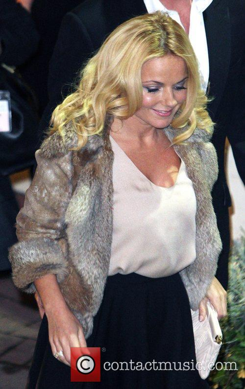 Geri Halliwell,  leaving the studio after the...