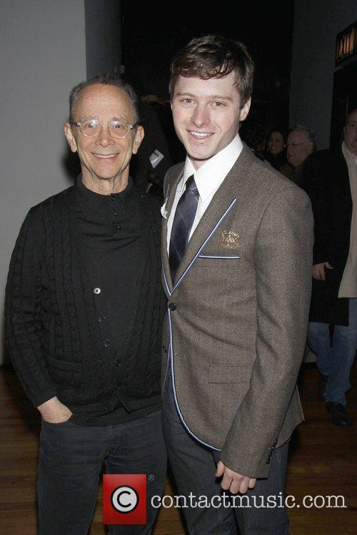 Joel Grey and Bobby Steggert  Opening night...