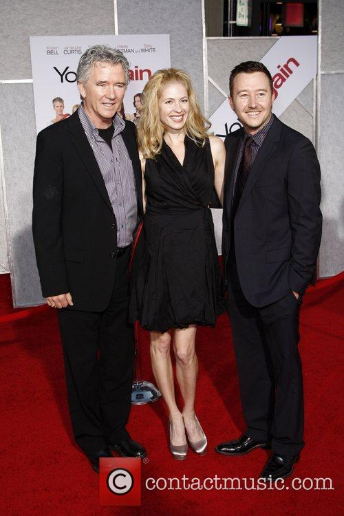 Patrick Duffy, son Padriac and guest Los Angeles...