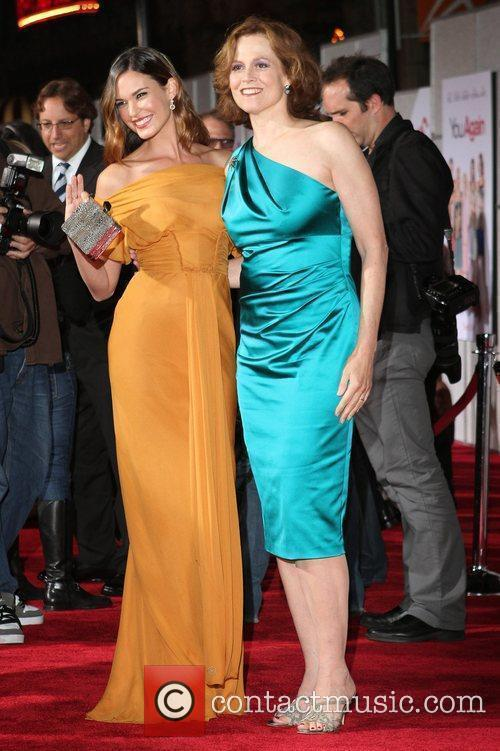Sigourney Weaver and Odette Yustman 6