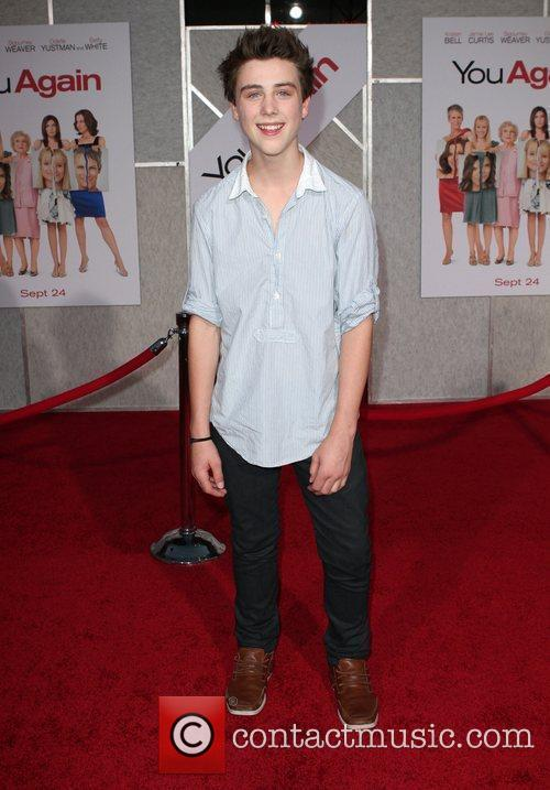 Sterling Beaumon Los Angeles Premiere of You Again...