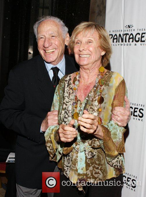 Mel Brooks and Cloris Leachman 3