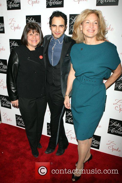Karyn Sedoh, Zac Posen and Susie Stenper Z...