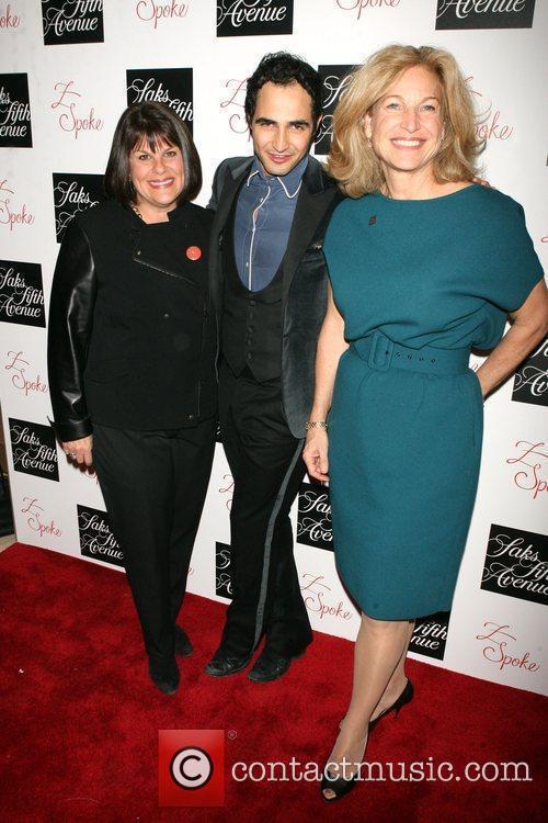 Karyn Sedoh, Zac Posen and Suzy Stenper Z...