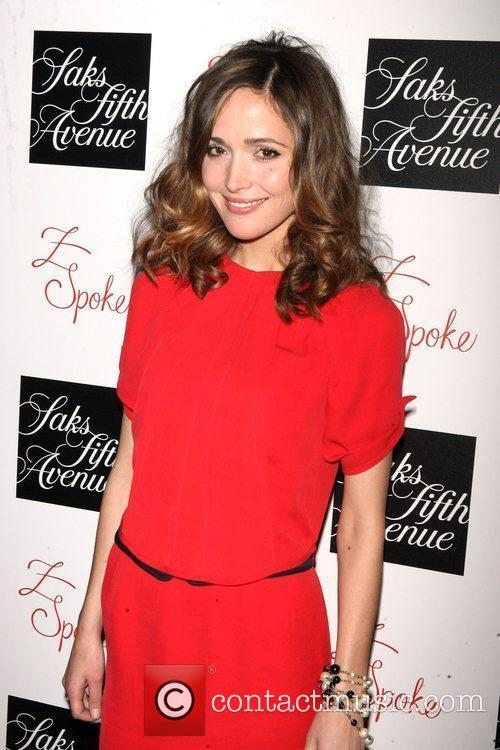 rose byrne. Rose Byrne and Zac Posen