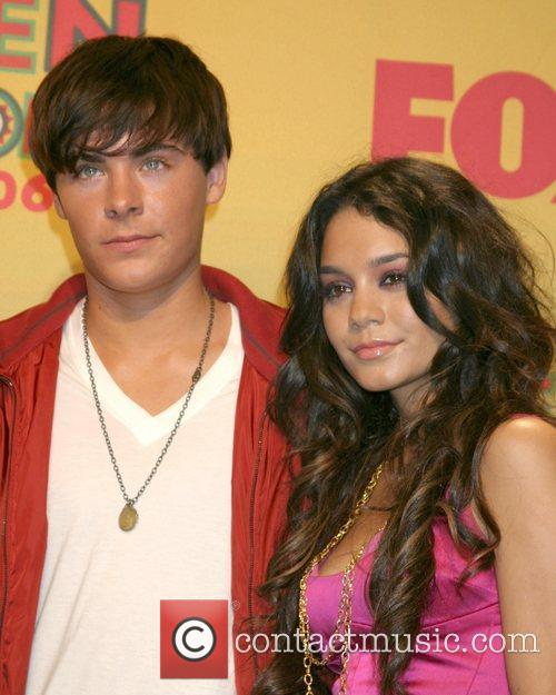 Zac Efron, High School Musical, Teen Choice Awards, Vanessa Anne Hudgens and Vanessa Hudgens