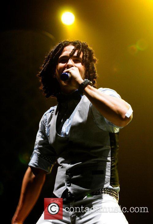 Singer Emilio Acevedo of the group Zone D'...