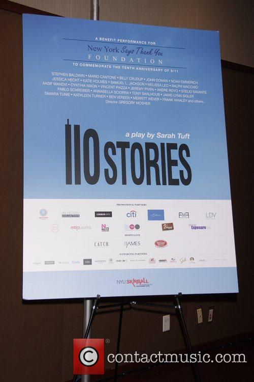 Reading of Sarah Tuft's '110 Stories', a benefit...