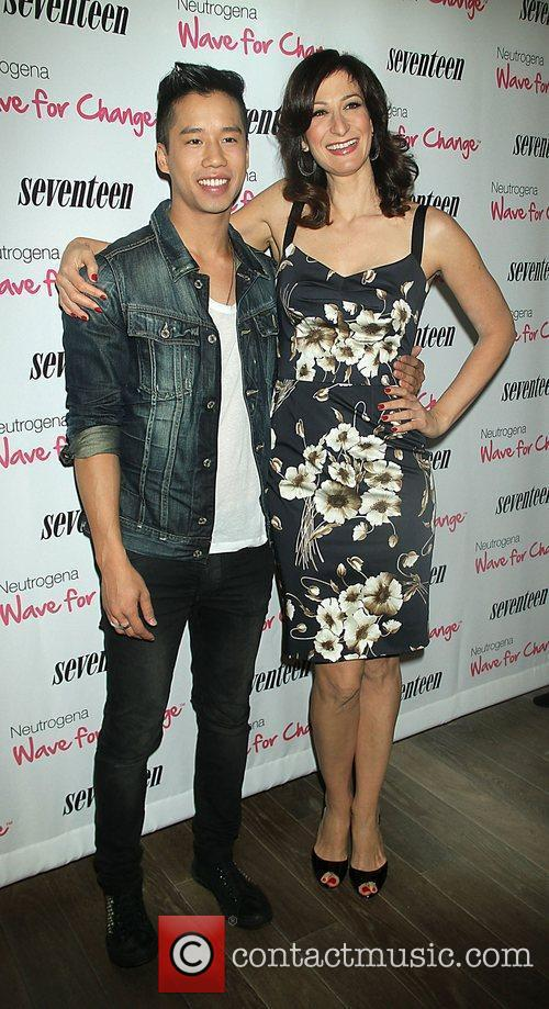 Jared Eng, Editor-in-chief of Seventeen Magazine, Ann Shoket...