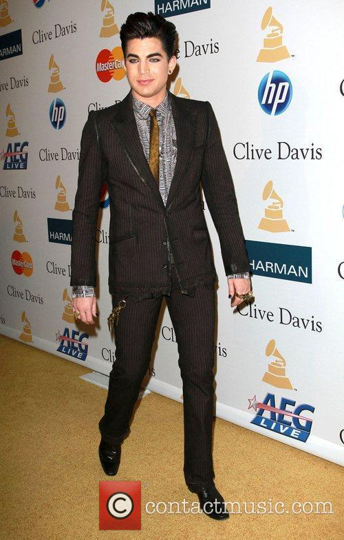 Adam Lambert and David Geffen 2