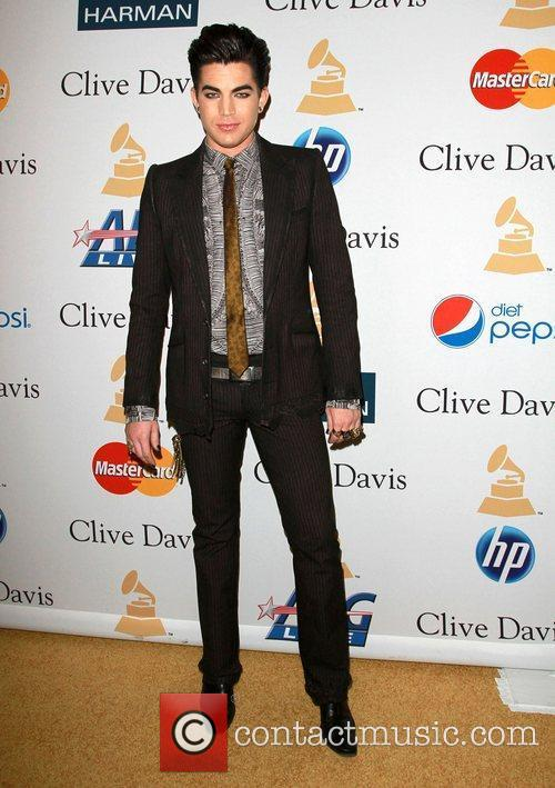 Adam Lambert and David Geffen 9