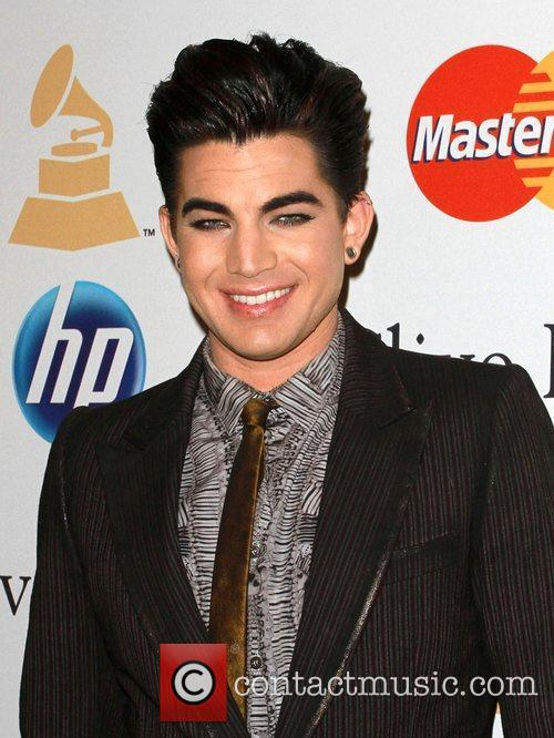 Adam Lambert and David Geffen 3