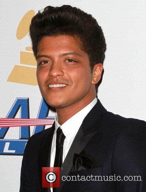 Bruno Mars 2011 Pre-Grammy Gala and Salute to...