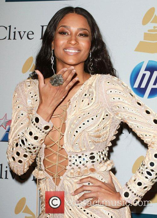 Ciara 2011 Pre-Grammy Gala and Salute to Industry...