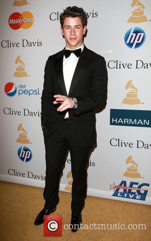Nick Jonas 2011 Pre-Grammy Gala and Salute to...