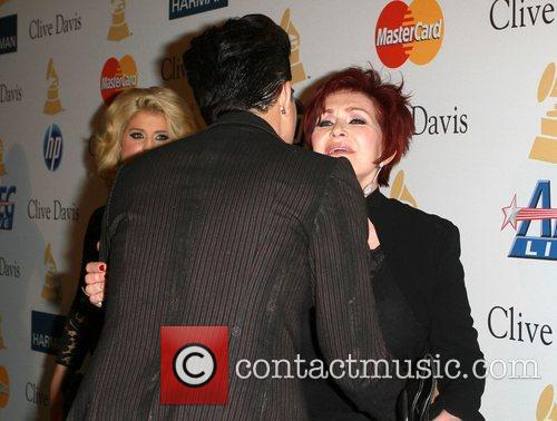 Adam Lambert, David Geffen, Kelly Osbourne and Sharon Osbourne 10