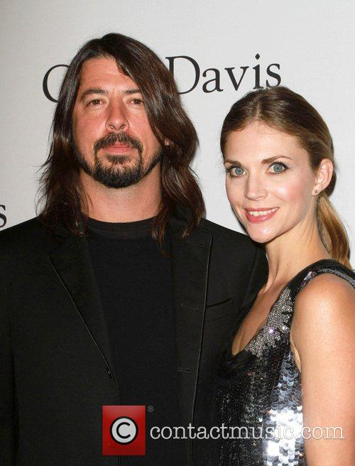 Dave Grohl 2011 Pre-Grammy Gala and Salute to...