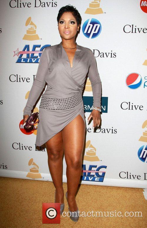 Tony Braxton 2011 Pre-Grammy Gala and Salute to...