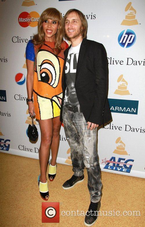David Guetta and Cathy Guetta 2011 Pre-Grammy Gala...