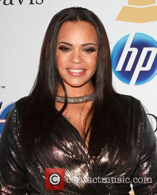 Faith Evans 2011 Pre-Grammy Gala and Salute to...
