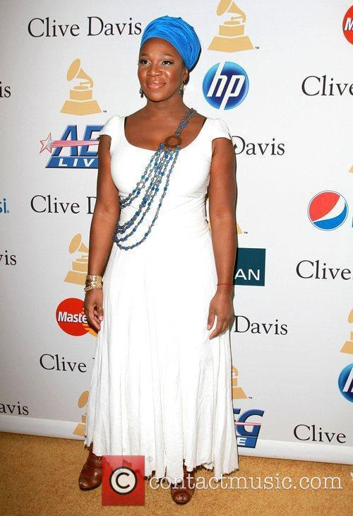 India Arie and David Geffen 1