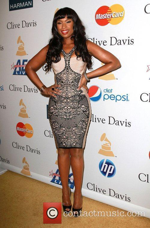 Jennifer Hudson 2011 Pre-Grammy Gala and Salute to...
