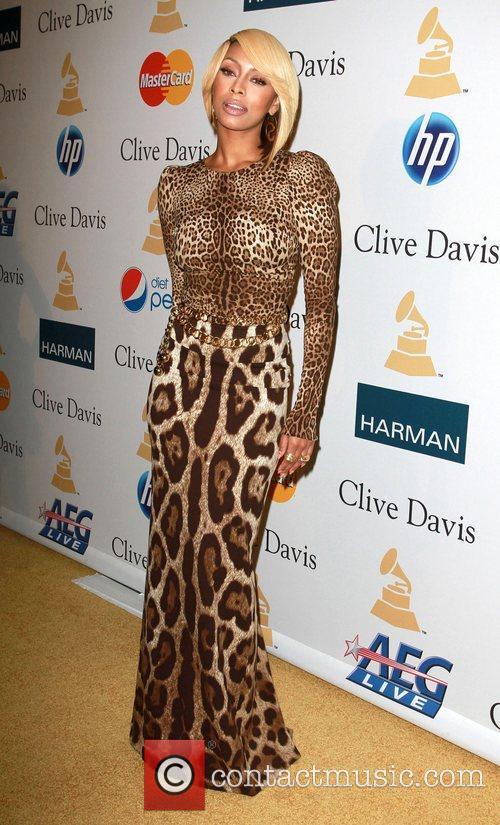 Keri Hilson 2011 Pre-Grammy Gala and Salute to...
