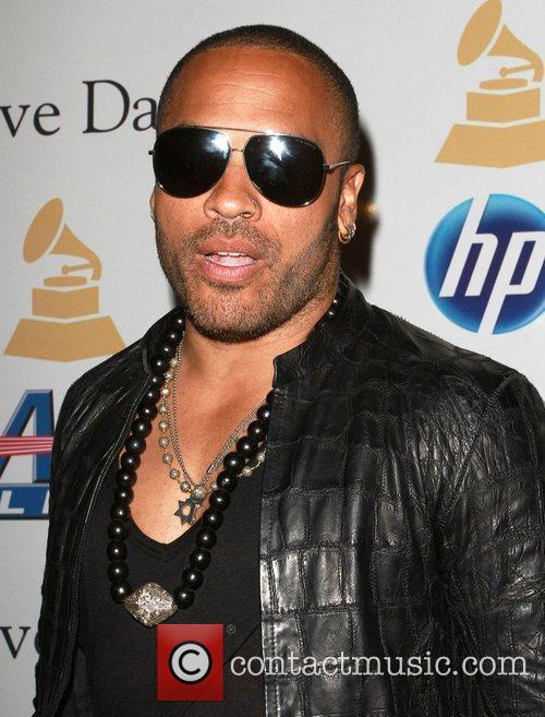 Lenny Kravitz 2011 Pre-Grammy Gala and Salute to...