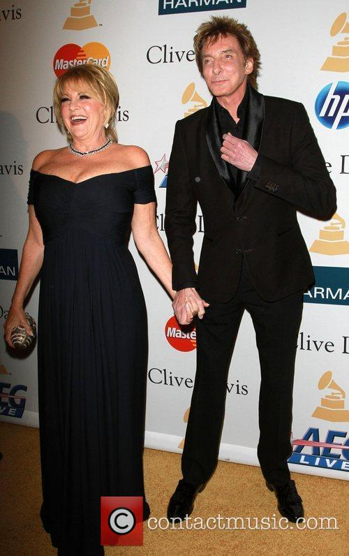 Lorna Luft and Barry Manilow 2011 Pre-Grammy Gala...
