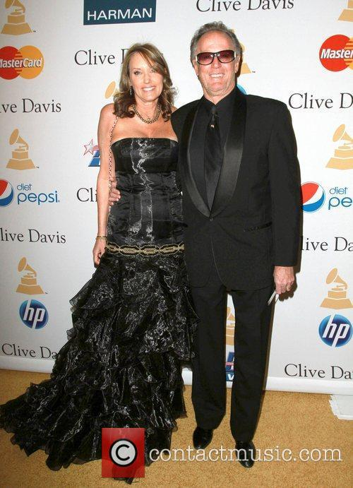 Peter Fonda and his girlfriend Parky DeVogelaere 2011...