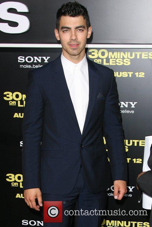 Joe Jonas Los Angeles Premiere of 30 Minute...