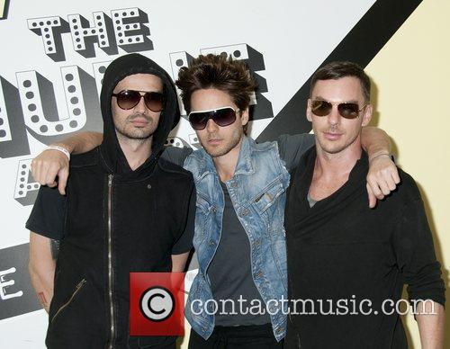 Jared Leto and 30 Seconds To Mars 8