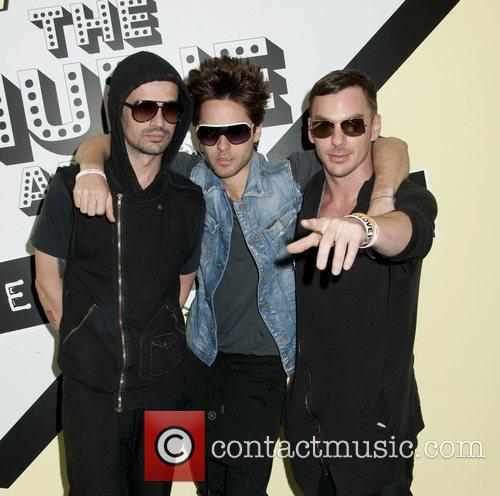 Jared Leto and 30 Seconds To Mars 3