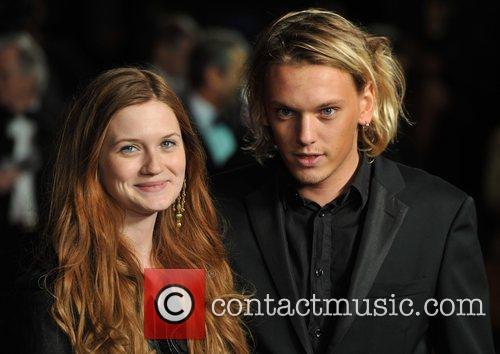 Bonnie Wright, Jamie Campbell Bower and Odeon Leicester Square 2