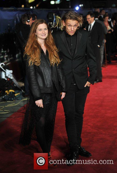 Bonnie Wright, Jamie Campbell Bower and Odeon Leicester Square 3