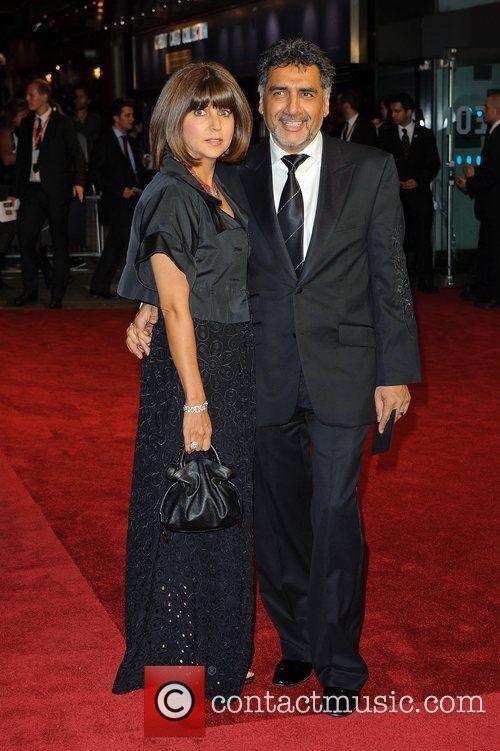 Aisha Caan and James Caan Screening of 360...