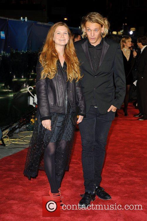 Bonnie Wright and Jamie Campbell Bower 8