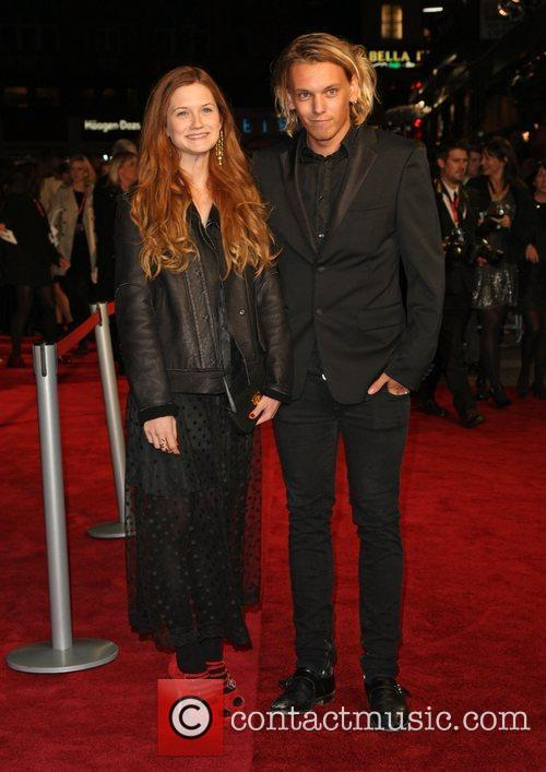 Bonnie Wright, Jamie Campbell Bower and Odeon Leicester Square 5