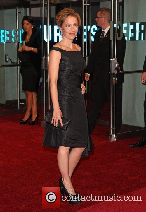 Gillian Anderson and Odeon Leicester Square 5