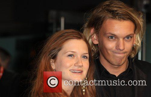 Bonnie Wright, Jamie Campbell Bower and Odeon Leicester Square 6