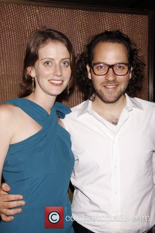 Amy Herzog and Sam Gold  Opening night...