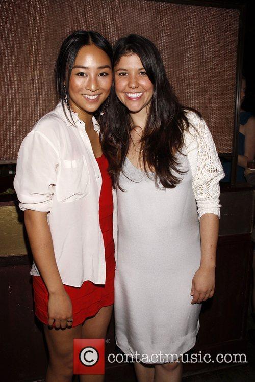 Greta Lee and Zoe Winters  Opening night...