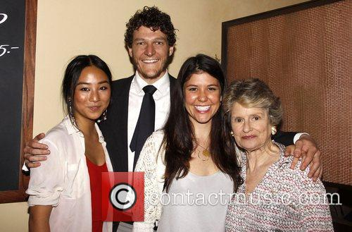 Greta Lee, Gabriel Ebert, Zoe Winters and Mary...