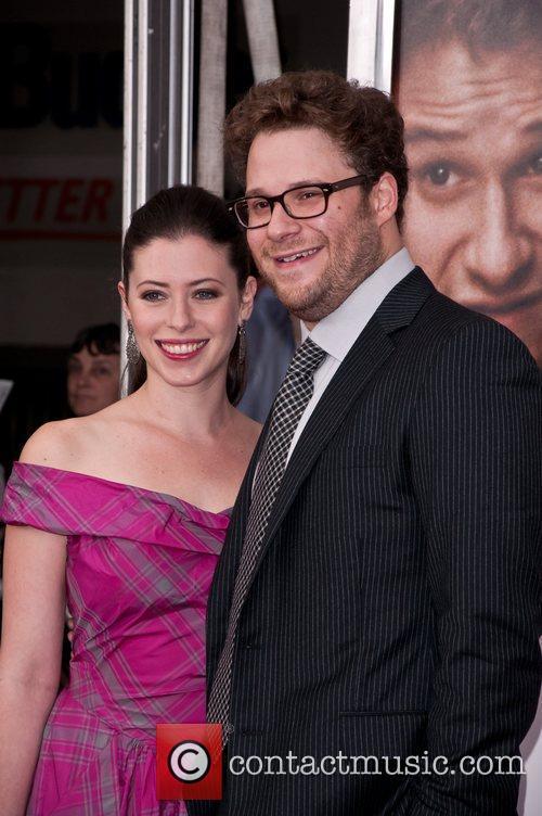 Seth Rogen, Lauren Miller 50/50 New York premiere...